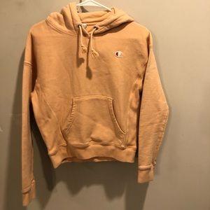 Champion reverse weave pullover hoodie Orange XS
